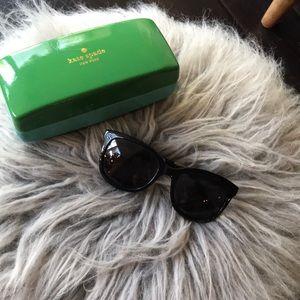 Kate Spade Sunglasses Black, Like new